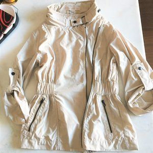 French Connection utility jacket spring coat cream